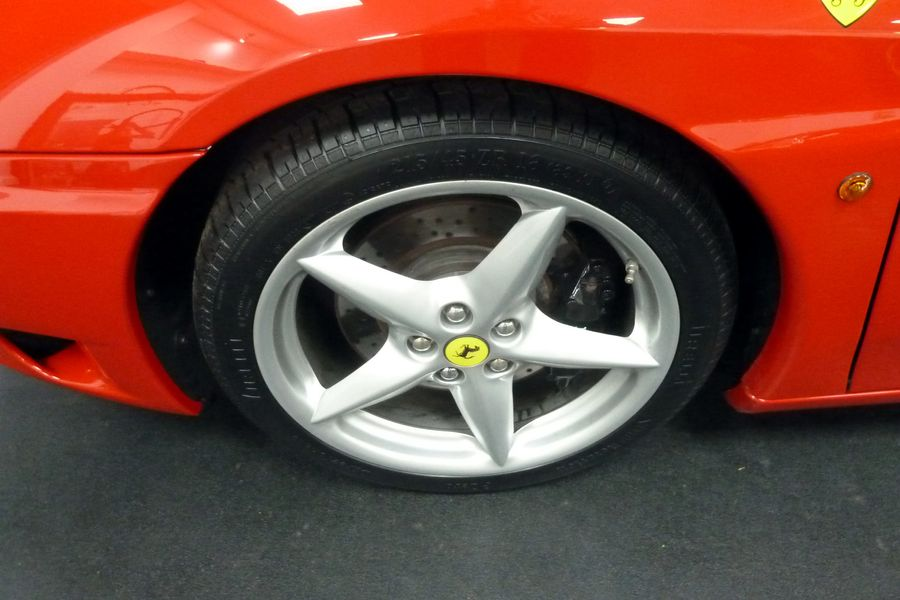 2000 FFERRARI 360 MODENA MANUAL